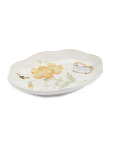 Lenox Butterfly Meadow Soap Dish-WHITE-One Size
