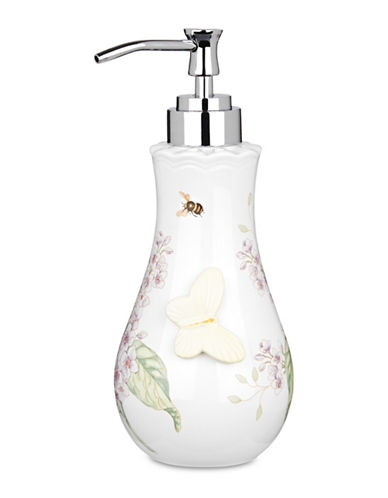 Lenox Butterfly Meadow Lotion Pump-WHITE-One Size