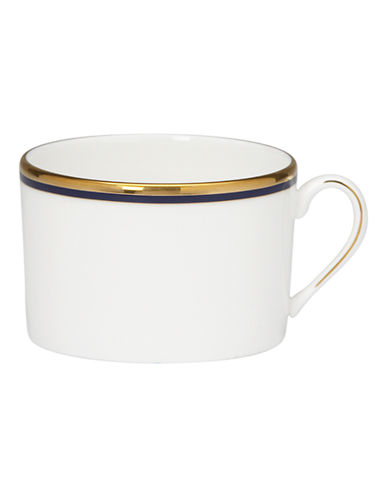 Kate Spade New York Library Lane Navy Cup-WHITE-One Size