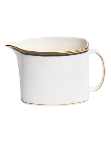 Kate Spade New York Library Lane Navy Creamer-WHITE-One Size