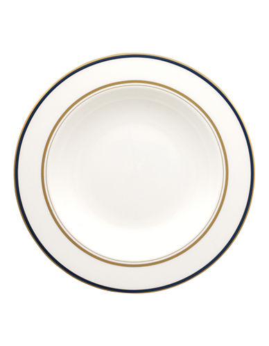 Kate Spade New York Library Lane Pasta and Soup Dish-WHITE-One Size
