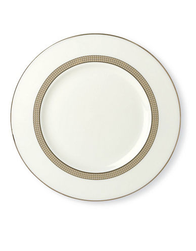 Kate Spade New York Sonora Knot Accent Plate-WHITE-One Size