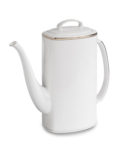 Kate Spade New York Sonora Knot Coffee Pot-WHITE-One Size