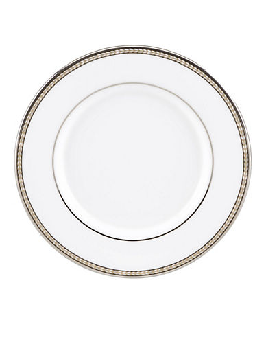 Kate Spade New York Sonora Knot Saucer-WHITE-One Size