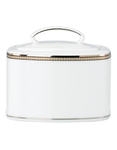 Kate Spade New York Sonora Knot Sugar Bowl-WHITE-One Size