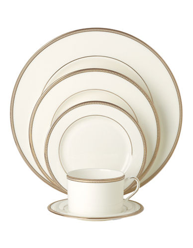 Kate Spade New York Sonora Knot 5-Piece Place Setting-WHITE-One Size