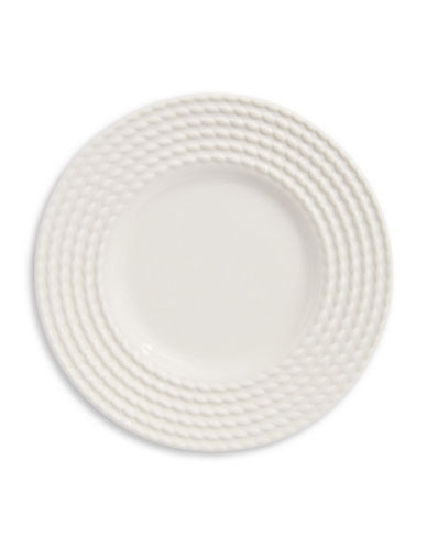 Kate Spade New York Wickford Party Plate-WHITE-One Size