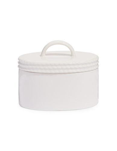 Kate Spade New York Wickford Sugar Bowl-WHITE-One Size