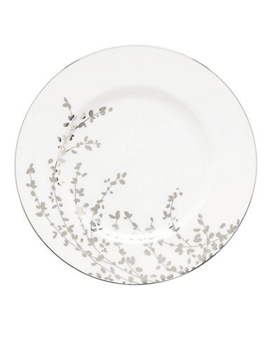 Kate Spade New York Gardner Street Accent Plate-WHITE-One Size