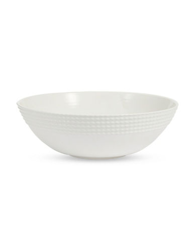 Kate Spade New York Wickford Bowl 10.5 in-WHITE-One Size