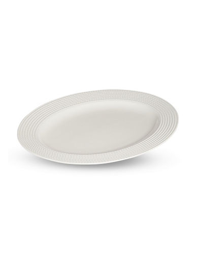 Kate Spade New York Wickford Oval Platter-WHITE-One Size