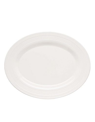 Lenox Tin Can Alley Oval Platter-WHITE-One Size