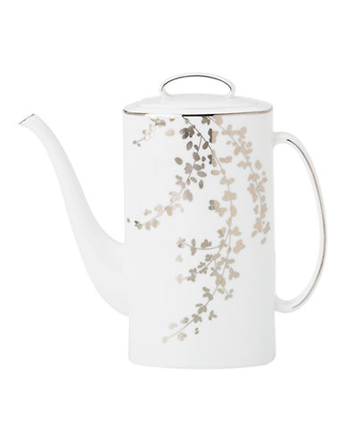 Kate Spade New York Gardner Street Coffee Pot-WHITE-One Size