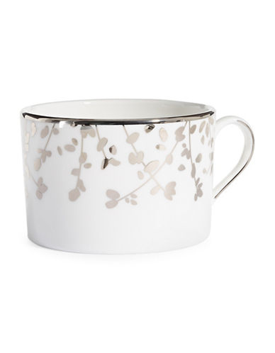 Kate Spade New York Gardner Street Platinum Cup-WHITE-One Size