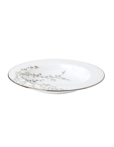 Kate Spade New York Gardner Street Pasta Bowl Rim Soup-WHITE-One Size