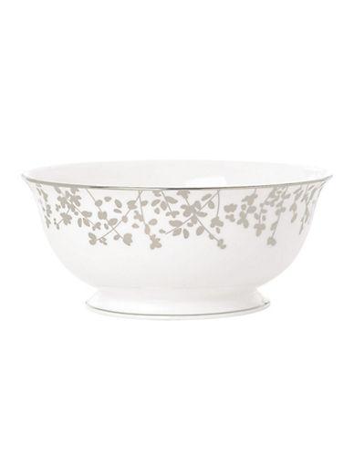 Kate Spade New York Gardner Street Serving Bowl-WHITE-One Size