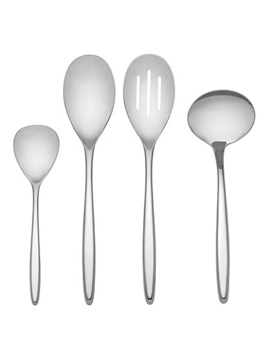 Kate Spade New York Tompkins Four-Piece Hostess Set-STAINLESS STEEL-4pc