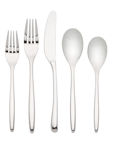 Kate Spade New York Tompkins Five-Piece Flatware Set-STAINLESS STEEL-One Size