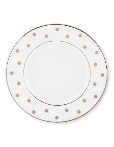 Kate Spade New York Larabee Road Can Saucer-WHITE-One Size