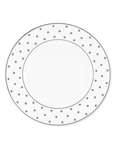 Kate Spade New York Larabee Road Dinner Plate-WHITE-One Size