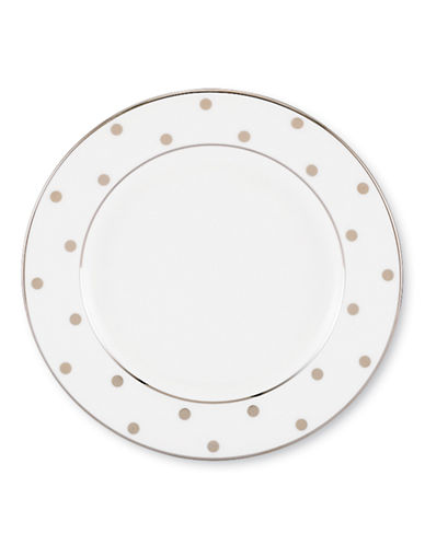 Kate Spade New York Larabee Road Butter Plate-WHITE-One Size