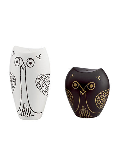 Kate Spade New York Woodland Park Owl Salt And Pepper Set-ASSORTED-One Size