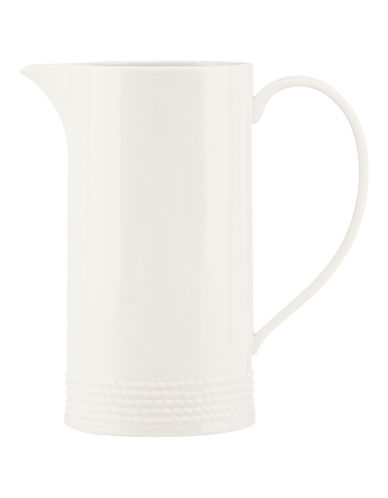 Kate Spade New York Wickford Pitcher-WHITE-One Size