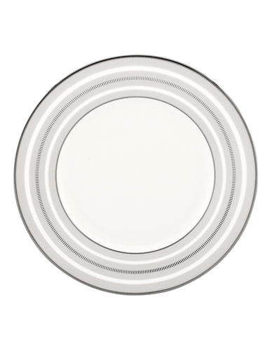 Kate Spade New York Palmetto Bay Accent Plate-WHITE-One Size