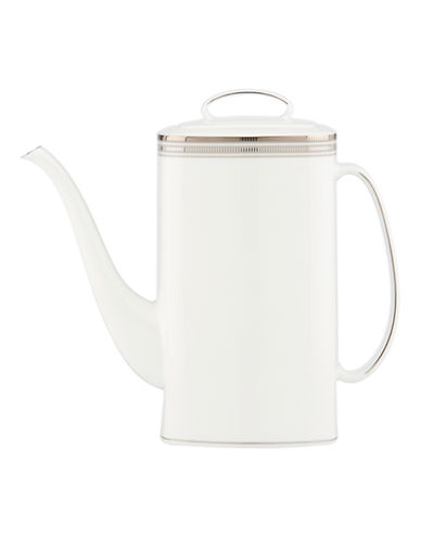 Kate Spade New York Palmetto Bay Coffee Pot-WHITE-One Size