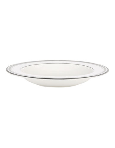 Kate Spade New York Palmetto Bay Pasta and Soup Dish-WHITE-One Size