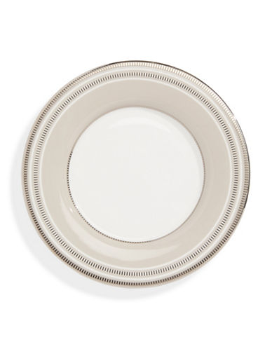 Kate Spade New York Palmetto Bay Saucer Plate-WHITE-One Size