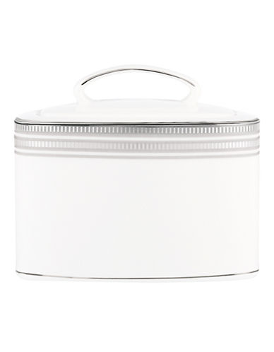 Kate Spade New York Palmetto Bay Sugar Bowl-WHITE-One Size