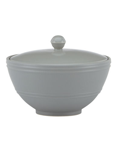 Kate Spade New York Fair Harbor Sugar Bowl-GREY-One Size