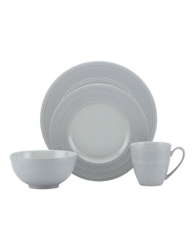 Kate Spade New York Fair Harbor 4-Piece Place Setting-GREY-One Size