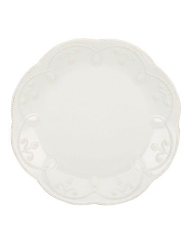 Lenox French Perle Accent Plate-WHITE-One Size
