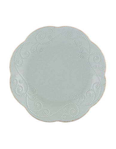 Lenox French Perle Dessert Plates-BLUE-One Size