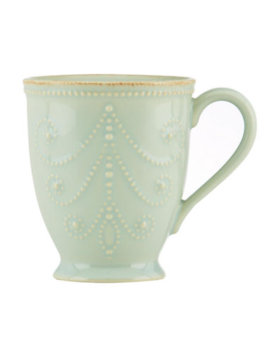 Lenox French Perle Mug-BLUE-One Size