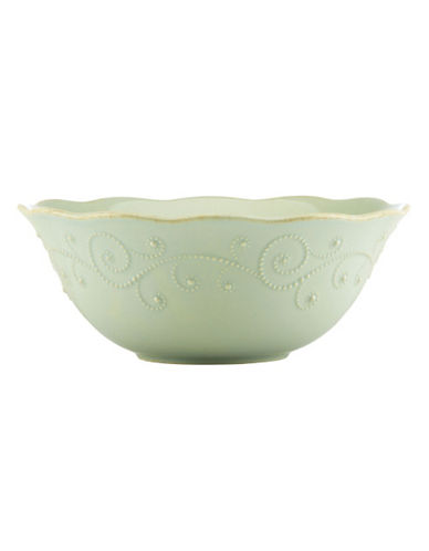 Lenox French Perle Serving Bowl-GREEN-One Size