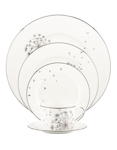 Kate Spade New York Dandy Lane 5-Piece Place Setting-WHITE-One Size