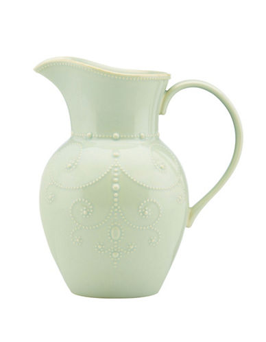 Lenox French Perle Pitcher-BLUE-One Size