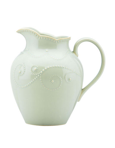 Lenox French Perle Medium Pitcher-LIGHT BLUE-One Size