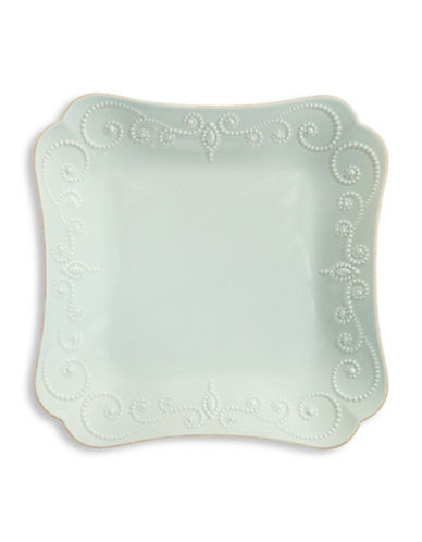 Lenox French Perle Square Dinner Plate-BLUE-One Size