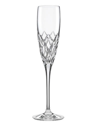 Kate Spade New York Downing Cuts Avenue Flute-CRYSTAL-One Size
