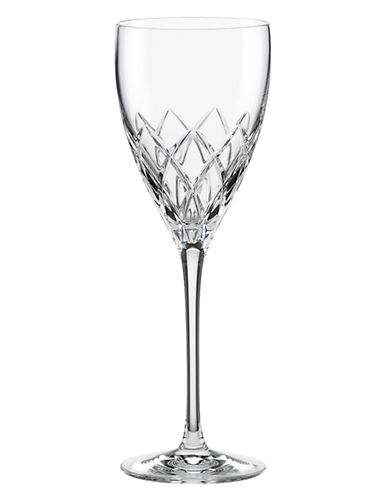 Kate Spade New York Downing Cuts Avenue Goblet-CRYSTAL-One Size