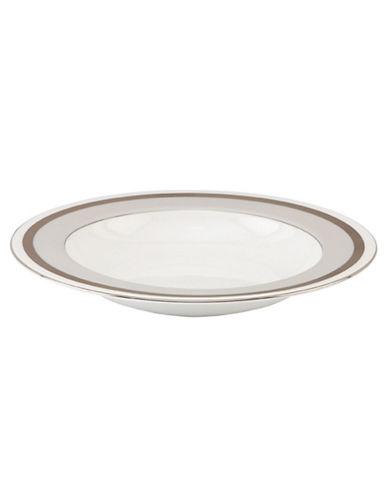Kate Spade New York Grace Avenue Pasta Bowl-WHITE/PLATINUM-One Size