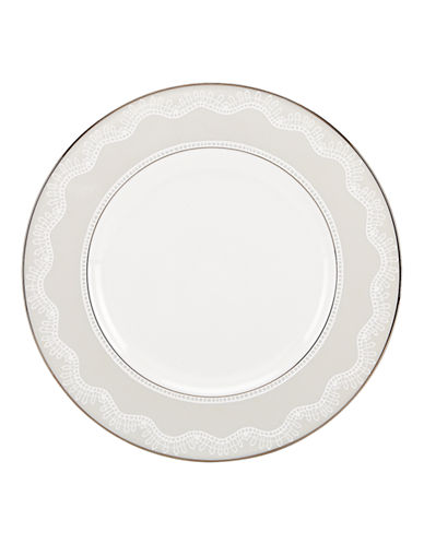 Kate Spade New York Chapel Hill Accent Plate-WHITE-One Size