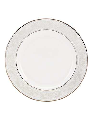 Kate Spade New York Chapel Hill Butter Plate-WHITE-One Size