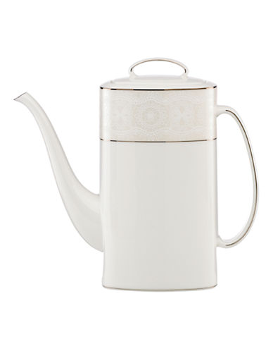Kate Spade New York Chapel Hill Coffee Pot-WHITE-One Size