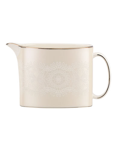 Kate Spade New York Chapel Hill Creamer-WHITE-One Size
