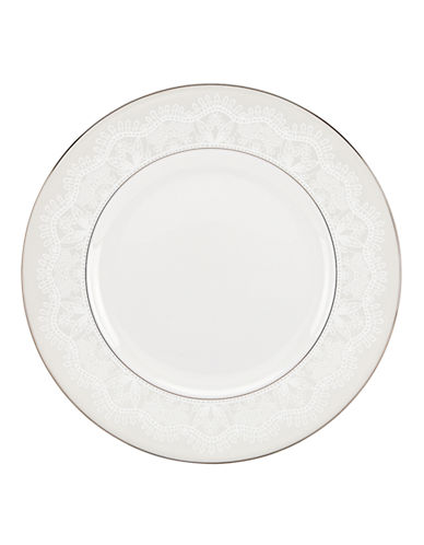 Kate Spade New York Chapel Hill Dinner Plate-WHITE-One Size